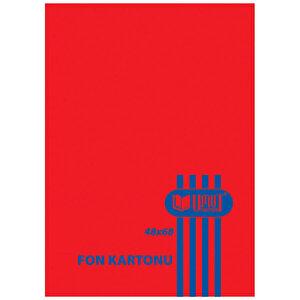 Umut Fon Kartonu 50 cm x 70 cm Kırmızı 100'lü Paket buyuk 1