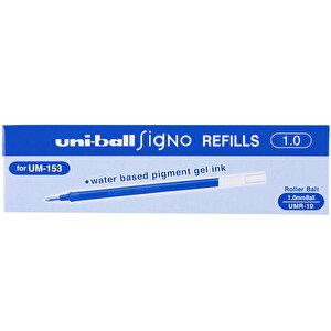 Uni-ball Signo Umr-10 (Um-153) İmza Kalemi Yedeği 1 mm Mavi 12'li Paket