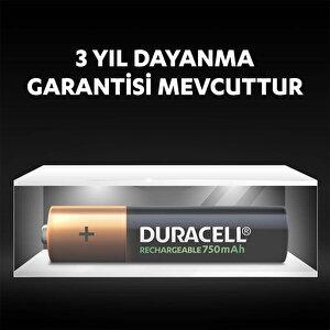 Duracell Şarj Edilebilir AAA 750mAh Piller, 2'li paket buyuk 7