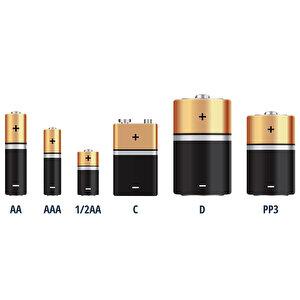 Duracell Şarj Edilebilir AAA 750mAh Piller, 2'li paket buyuk 8