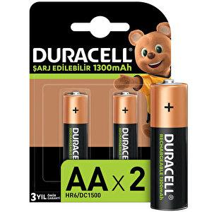 Duracell AA Şarj Edilebilir Kalem Pil 2'li Paket buyuk 1