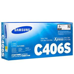 Samsung CLP 365 CLT-C406S Mavi (Cyan) Toner