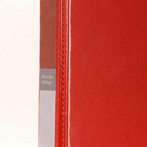 Önder 2003 A4 2 Halkalı 3 cm Tanıtım Klasörü Kırmızı buyuk 4