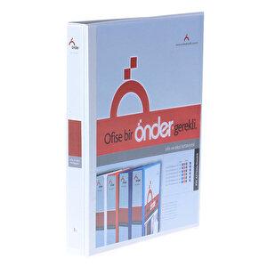 Önder 2003 A4  2 Halkalı 3 cm Tanıtım Klasörü Beyaz