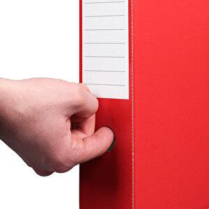 Esselte 5276 Karton Magazinlik Kırmızı buyuk 4