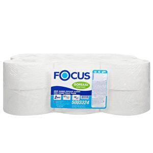 Focus Extra Mini Jumbo Tuvalet Kağıdı 6,1 kg 150 m 12'li Paket buyuk 1