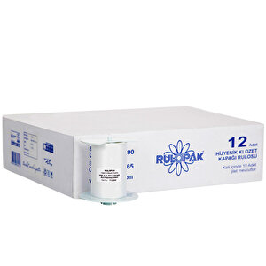 Rulopak R-2201 Sensörlü Klozet Rulosu 12'li Koli