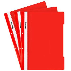 Avansas Eco Telli Dosya Kırmızı 50'li Paket