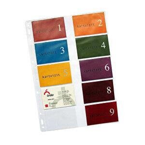 Önder 5053 Kartvizit Albümü Yedeği Geniş Mekanizmalı 12'li buyuk 1