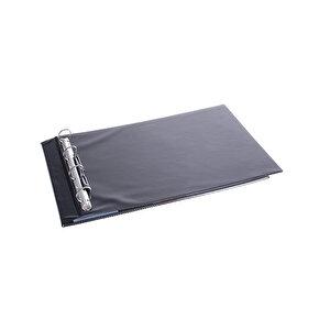 Önder 2021 A3 4 Halkalı 3 cm Tanıtım Klasörü Yatay Siyah buyuk 2