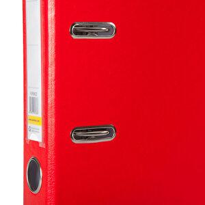 Avansas Extra Plastik Klasör Dar A4 Kırmızı