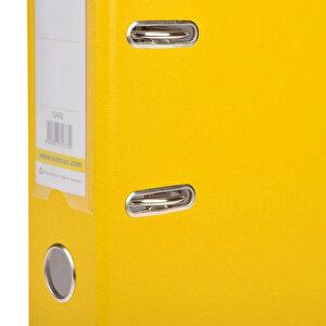 Avansas Extra Plastik Klasör Geniş A4 Sarı buyuk 3