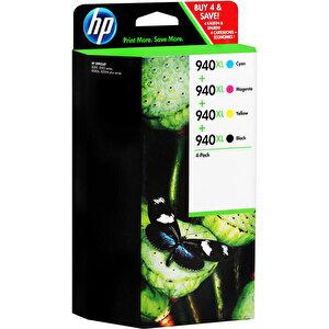 HP 940XL Kartuş Seti 4'lü Paket C2N93AE