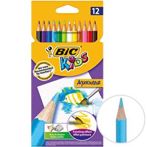 Bic Kids Aquacouleur 8575613 Kuru Sulu Boya Kalemi 12'li Paket buyuk 1
