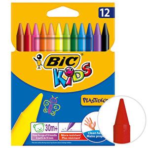 Bic Plastidecor 945764 Silinebilir Pastel Boya 12'li Paket buyuk 1