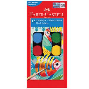 Faber Castell Redline Sulu Boya Küçük Boy 12 Renk
