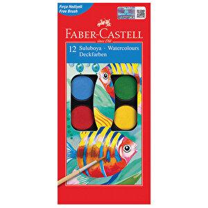 Faber Castell Redline Sulu Boya Büyük Boy 12 Renk buyuk 1