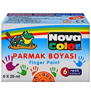 Nova Color Nc-138 Parmak Boyası 6'lı Paket buyuk 1