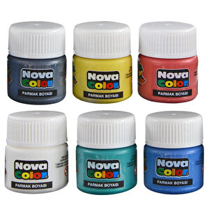 Nova Color Nc-138 Parmak Boyası 6'lı Paket buyuk 2