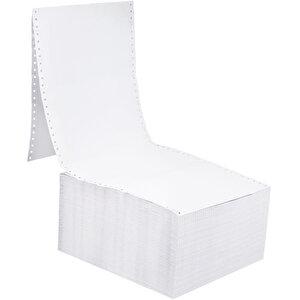 Avansas 11 inç x 24 cm Sürekli Form Kağıdı 2 Nüsha 5.5 Perfore 1000'li buyuk 1