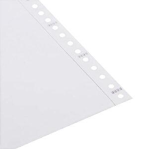 Avansas 11 inç x 24 cm Sürekli Form Kağıdı 1 Nüsha 5.5 Perfore 2000'li