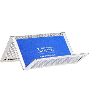 Avansas 953 Metal Kartvizitlik Gümüş