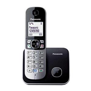 Panasonic KX-TG 6811 Telsiz (Dect) Telefon Siyah buyuk 1