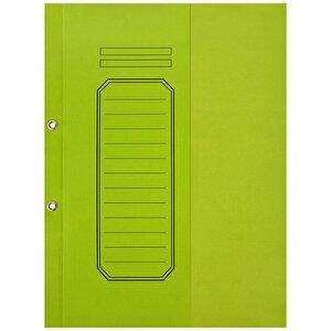 Avansas Büro Dosyası Yarım Kapak Yeşil 25'li Paket buyuk 1