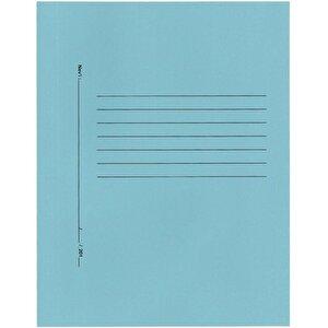 Avansas Büro Dosyası Tam Kapak Mavi 25'li Paket buyuk 1