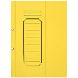 Avansas Büro Dosyası Yarım Kapak Sarı 25'li Paket