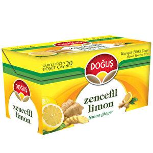 Doğuş Bitki Çayı Limon Zencefil 20'li Paket buyuk 1
