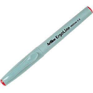 Artline 3600 Ergoline İmza Kalemi 0.6 mm Medium Uç Kırmızı buyuk 4