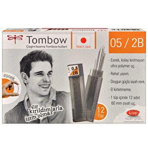 Tombow 0.5 mm 2B Kalem Ucu 12'li Paket buyuk 2