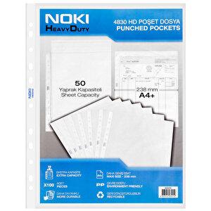 Noki 4830 A4 HD Poşet Dosya 100'lü Paket buyuk 1
