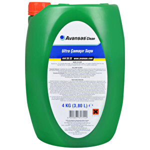 Avansas Clean Ultra Çamaşır Suyu Dağ Esintisi 4 kg