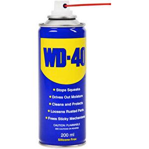 WD-40 Çok Amaçlı Etkili Koruyucu ve Pas Sökücü 200 ml