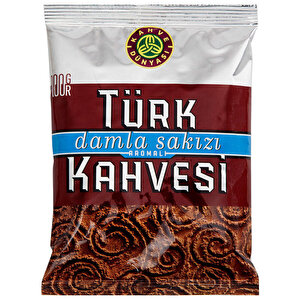 Kahve Dünyası Damla Sakızlı Türk Kahvesi 100 gr buyuk 1