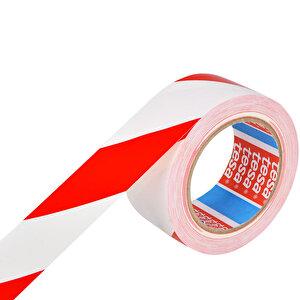 Tesa 60760 Yer İşaretleme İkaz Bandı 50 mm x 33 m Kırmızı / Beyaz Çizgili buyuk 2