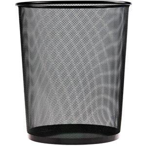 Avansas 1123 Metal Delikli Çöp Kovası Siyah 11 lt buyuk 2
