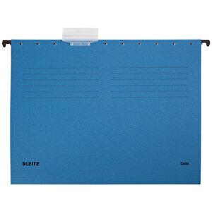 Leitz 6515 Askılı Dosya Telsiz Mavi 25'li Paket
