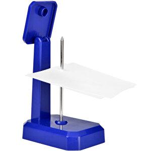 Mas 805 Plastik Memo Holder Not Tutucu Mavi buyuk 2