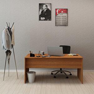 Avansas Comfort Çalışma Masası 160 cm Teak buyuk 2