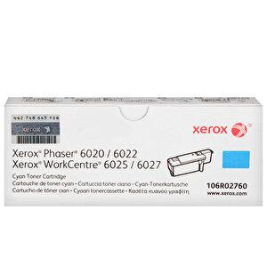 Xerox 106R02760 Phaser 6020/6022/WC6025/6027 Mavi Toner 1000 sayfa buyuk 1
