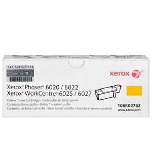 Xerox 106R02762 Phaser 6020/6022/WC6025/6027 Sarı Toner 1000 sayfa buyuk 1
