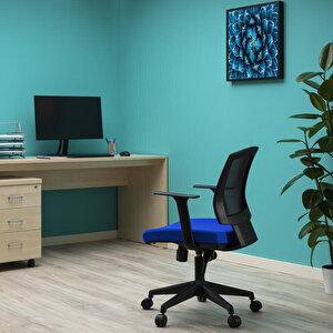 Avansas Comfort Reks Çalışma Koltuğu Mavi buyuk 12