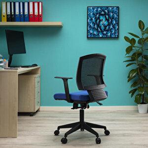 Avansas Comfort Reks Çalışma Koltuğu Mavi buyuk 13
