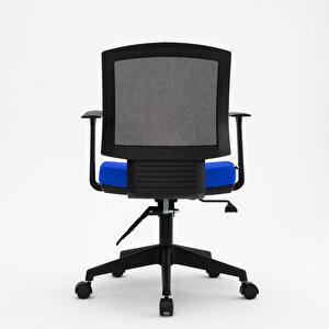 Avansas Comfort Reks Çalışma Koltuğu Mavi buyuk 15