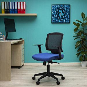 Avansas Comfort Reks Çalışma Koltuğu Mavi buyuk 2