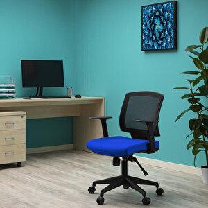 Avansas Comfort Reks Çalışma Koltuğu Mavi buyuk 3
