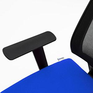 Avansas Comfort Reks Çalışma Koltuğu Mavi buyuk 7